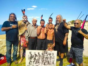 Noongar Smoking Ceremony at Fremantle Round House, 26th January 2017.