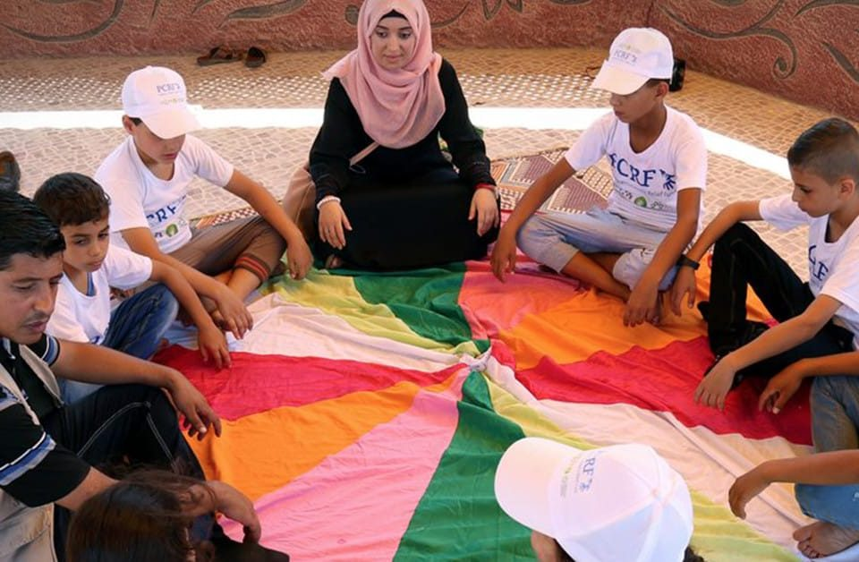 Building Resilient Communities in Gaza: The Center for Mind-Body Medicine.
