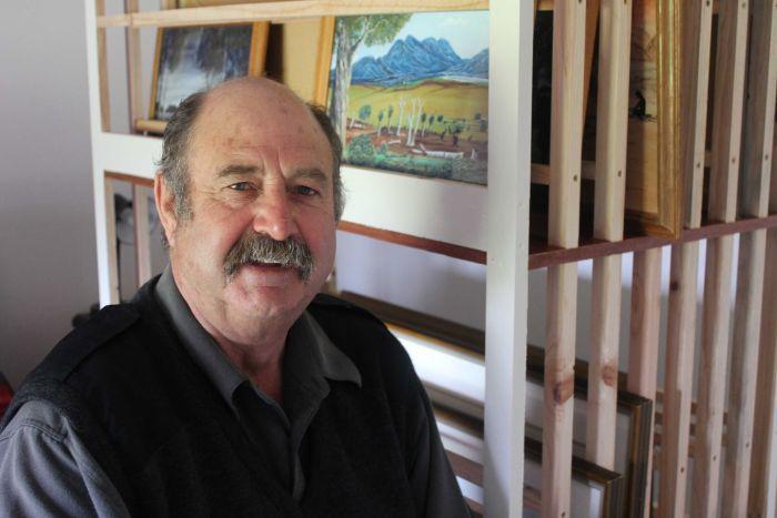 Photograph of Tony Davis from ABC Great Southern, 27th November 2015.