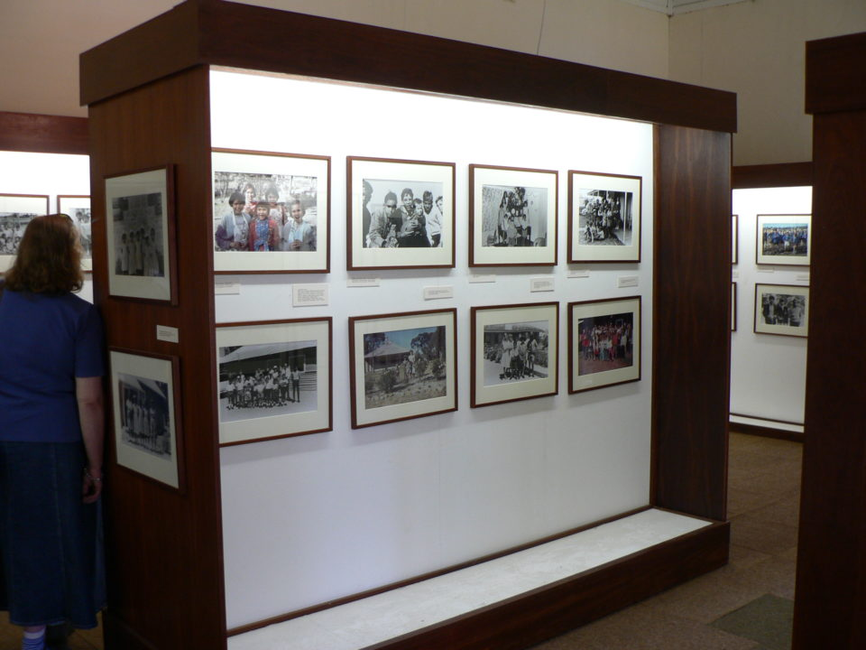 Photographic exhibition at Marribank Cultural Centre, focussed on the Marribank Baptist Union years, 1952-80. Photo: John Stanton, 12th September 2007.