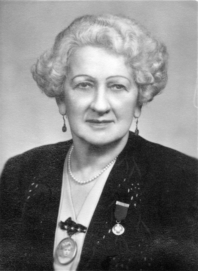 Mrs Florence Rutter.