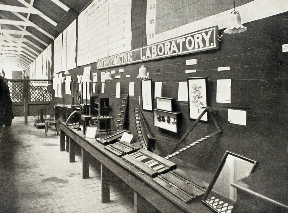 Francis Galton pioneered the concept of eugenics in this laboratory in London in the late 19th century. Flickr/Science Museum London