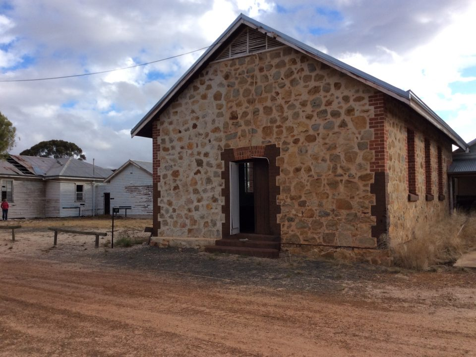 Carrolup School, main building. Photographer: David Clark, 16 November, 2016.
